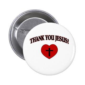 Gracias Jesús (el corazón) Pins
