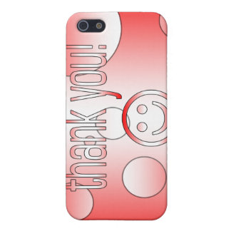 ¡Gracias La bandera de Canadá colorea arte pop iPhone 5 Protector