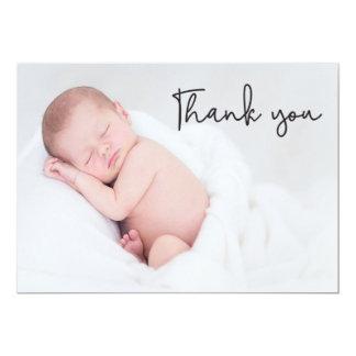 Gracias la invitación del nacimiento y del bebé,