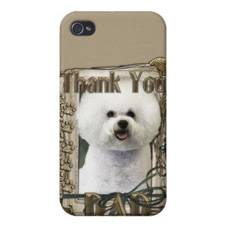 Gracias - las patas de piedra - Bichon Frise - pap iPhone 4 Protector