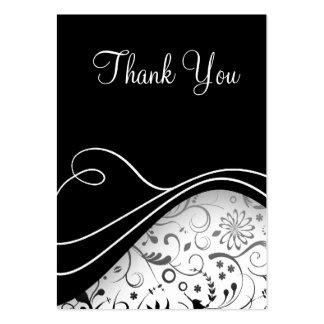 Gracias las pequeñas tarjetas plantillas de tarjetas de visita