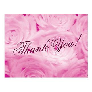Gracias las postales del boda con las flores color
