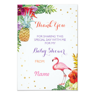 Gracias las tarjetas de Luau de la hawaiana del