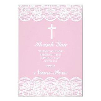 Gracias las tarjetas santas florales de la cruz