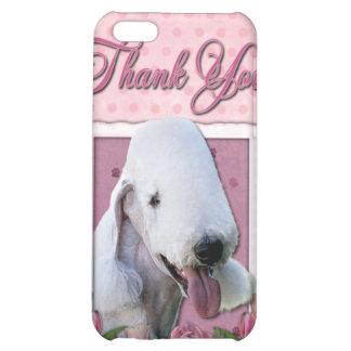 Gracias - los tulipanes rosados - Bedlington Terri