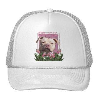 Gracias - los tulipanes rosados - Pitbull - chica Gorros