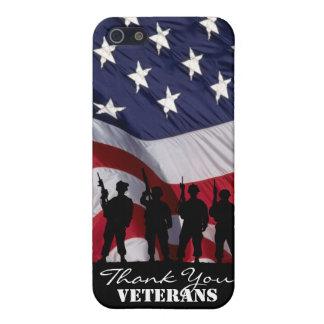 Gracias los veteranos iPhone 5 carcasa