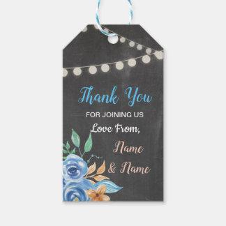 Gracias marca casar con etiqueta las flores azules