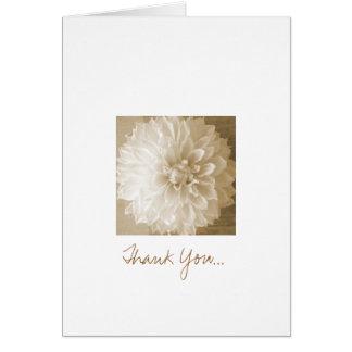 Gracias… notecard tarjeta pequeña