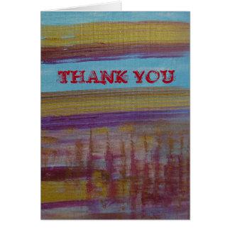 Gracias: para ser usted tarjeta de felicitación