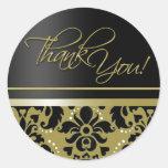 Gracias pegatina (Chaucer/el oro negro)