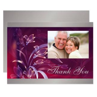 Gracias por asistir a tarjetas de la fiesta de invitación 8,9 x 12,7 cm