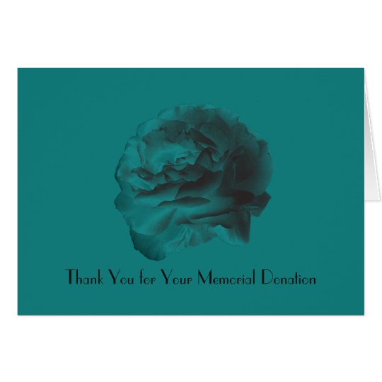 Gracias por la donación conmemorativa, color de tarjeta pequeña