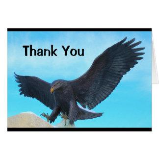 Gracias por su tarjeta de los militares del