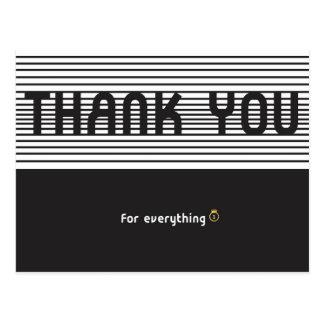Gracias por todo postal