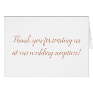 Gracias por tostarnos en nuestra invitación de