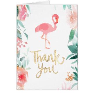 gracias script el flamenco tarjeta