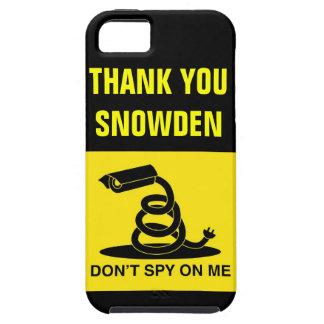 Gracias Snowden iPhone 5 Case-Mate Fundas