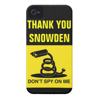 Gracias Snowden Case-Mate iPhone 4 Protector