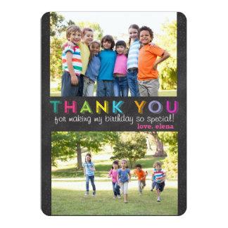 Gracias tarjeta de encargo de la foto invitación 12,7 x 17,8 cm