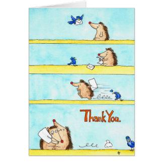 GRACIAS tarjeta de felicitación de Nicole Janes