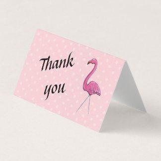 Gracias tarjeta del flamenco