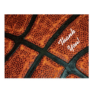Gracias viejo modelo retro del baloncesto postal