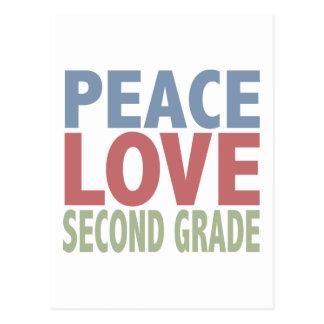 Grado del amor segundo de la paz postal