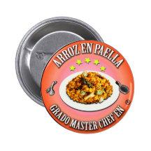 Grado Master Chef en Arroz en Paella Chapa Redonda 5 Cm