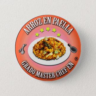 Grado Master Chef en Arroz en Paella Chapa Redonda De 5 Cm