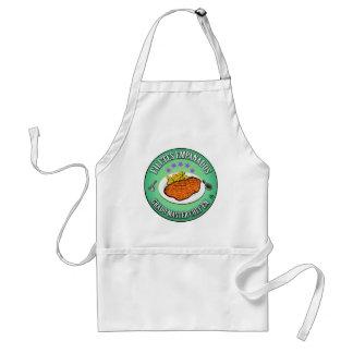 Grado Master Chef en Filetes Empanados Delantal