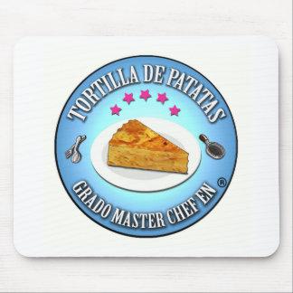 Grado Master Chef en Tortilla de Patatas Alfombrilla De Ratón