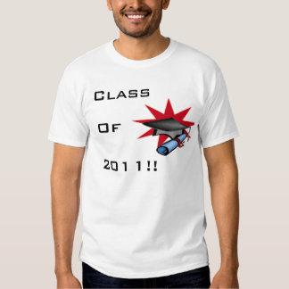 Graduación 2011 camiseta
