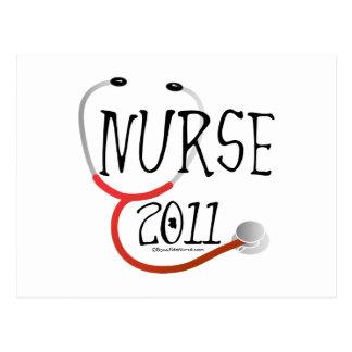 Graduación 2011 de la enfermera postal