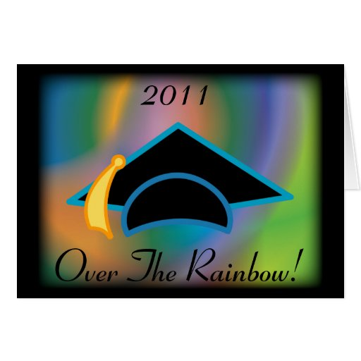 """Graduación 2011 """"sobre tarjeta de felicitación del"""