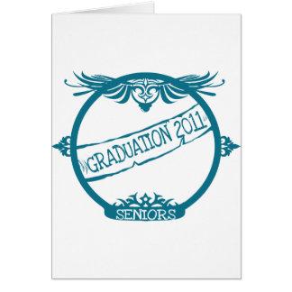 Graduación 2011 tarjeta