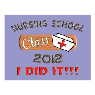 Graduación 2012 de la escuela de enfermería postal