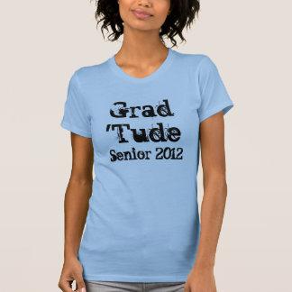 Graduación 2012 del Grunge Camisetas