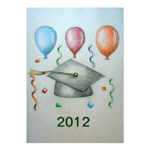 graduación 2012 anuncio personalizado