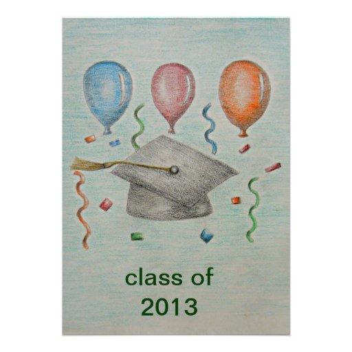 graduación 2012 invitacion personalizada