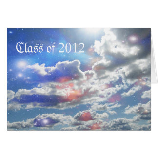 Graduación 2012 tarjeta de felicitación