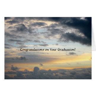 Graduación--Cielo grande Felicitacion