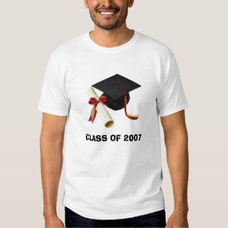 graduación, CLASE DE 2007 Camiseta