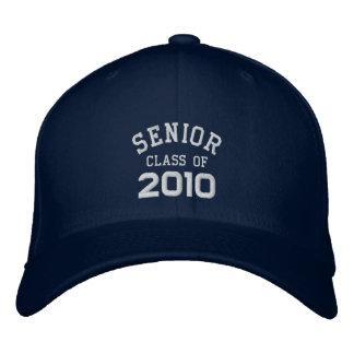 Graduación - clase mayor de 2010 - gorras del grad gorra de beisbol