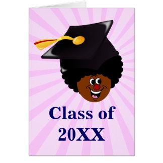 Graduación: Clase mayor de 2014 graduados Tarjeta