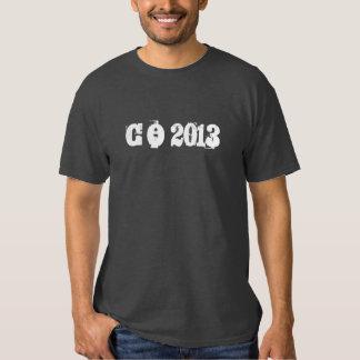 Graduación de 2013 camiseta