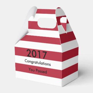 Graduación de la bandera americana caja para regalos