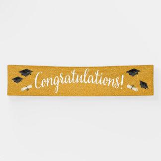Graduación de la enhorabuena/cualquier bandera de