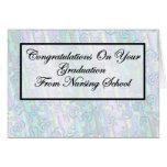 Graduación de la escuela de enfermería de la enhor felicitación