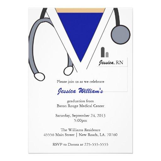 Graduación de la escuela de enfermería anuncio